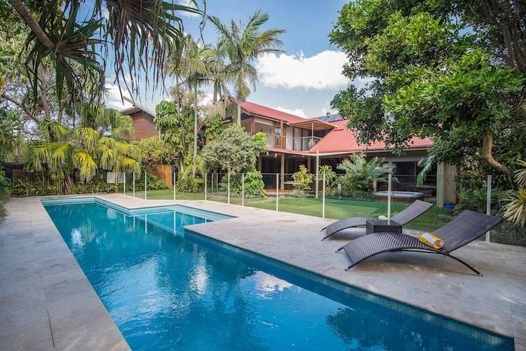 105 idées pour aménagement de piscine de jardin moderne