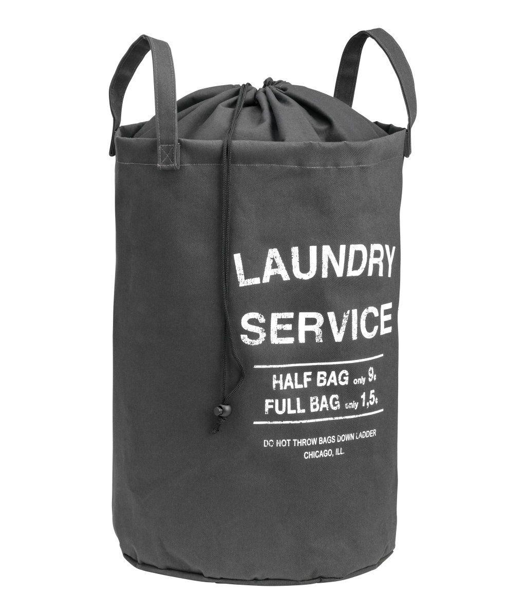 Vaskepose | Mørkegrå | Home | H&M DK