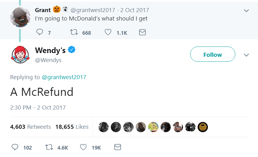 20+ Times Wendy's Won the Internet with Their Savage Twitter Roasts