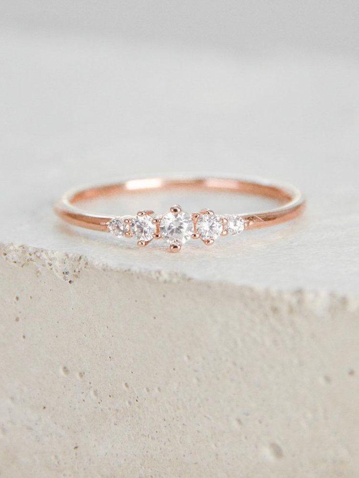Crown Ring - Rose Gold