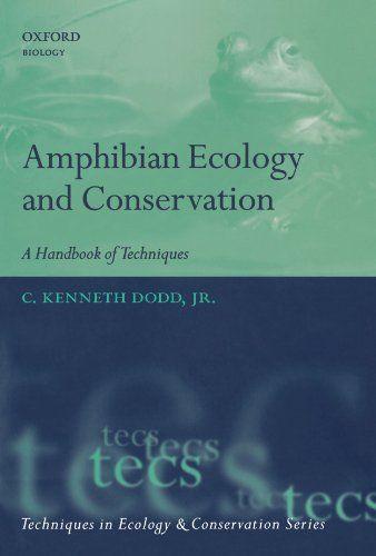 Amphibian Ecology And Conservation A Handbook Of Techniques Techniques In Ecology Conservation By C Kenn Ecology Oxford University Press Math Experiments