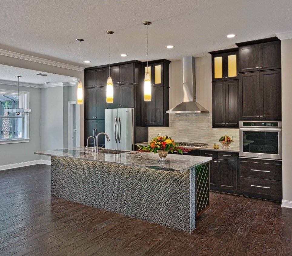 pin by beetree homes on dark wood contemporary custom kitchen remodel kitchen remodel floor on kitchen remodel dark floors id=90371