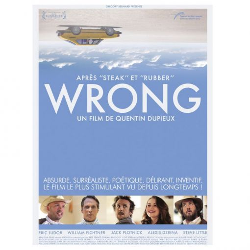 Wrong a movie by quentin dupieux | books culture | pinterest.