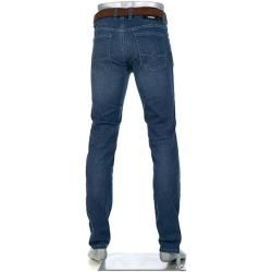 Photo of Alberto Jeans Herren, Baumwoll-Stretch, blau Alberto