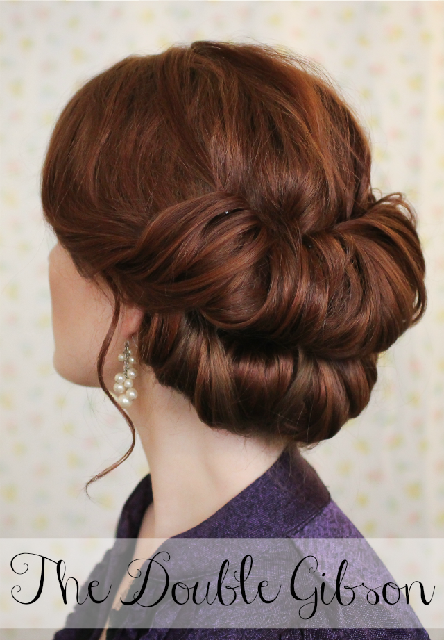 Holiday Hair Week: The Double Gibson - The Freckled Fox