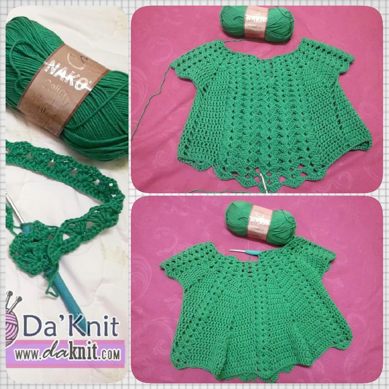 Free Crochet Pattern: Her Pretty Blouse – Belajar Seni Mengait ...