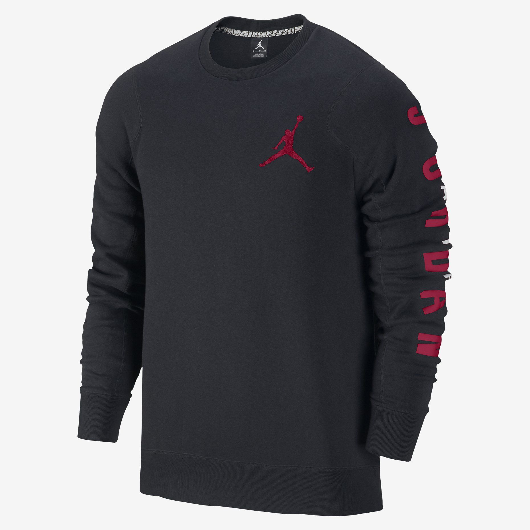 nike air fleece crew herren sweatshirt