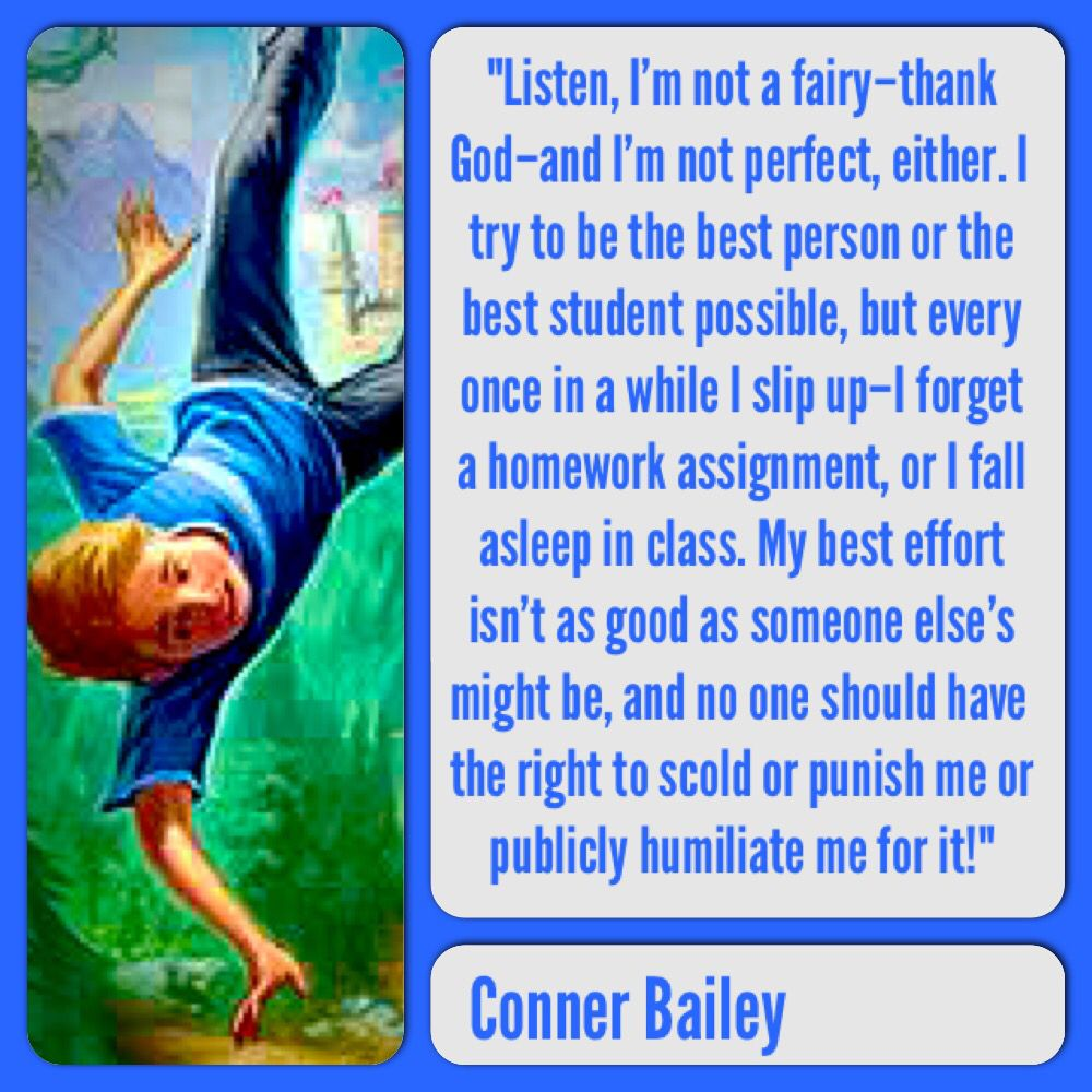 Conner Bailey From The Land Of Stories By Chris Colfer