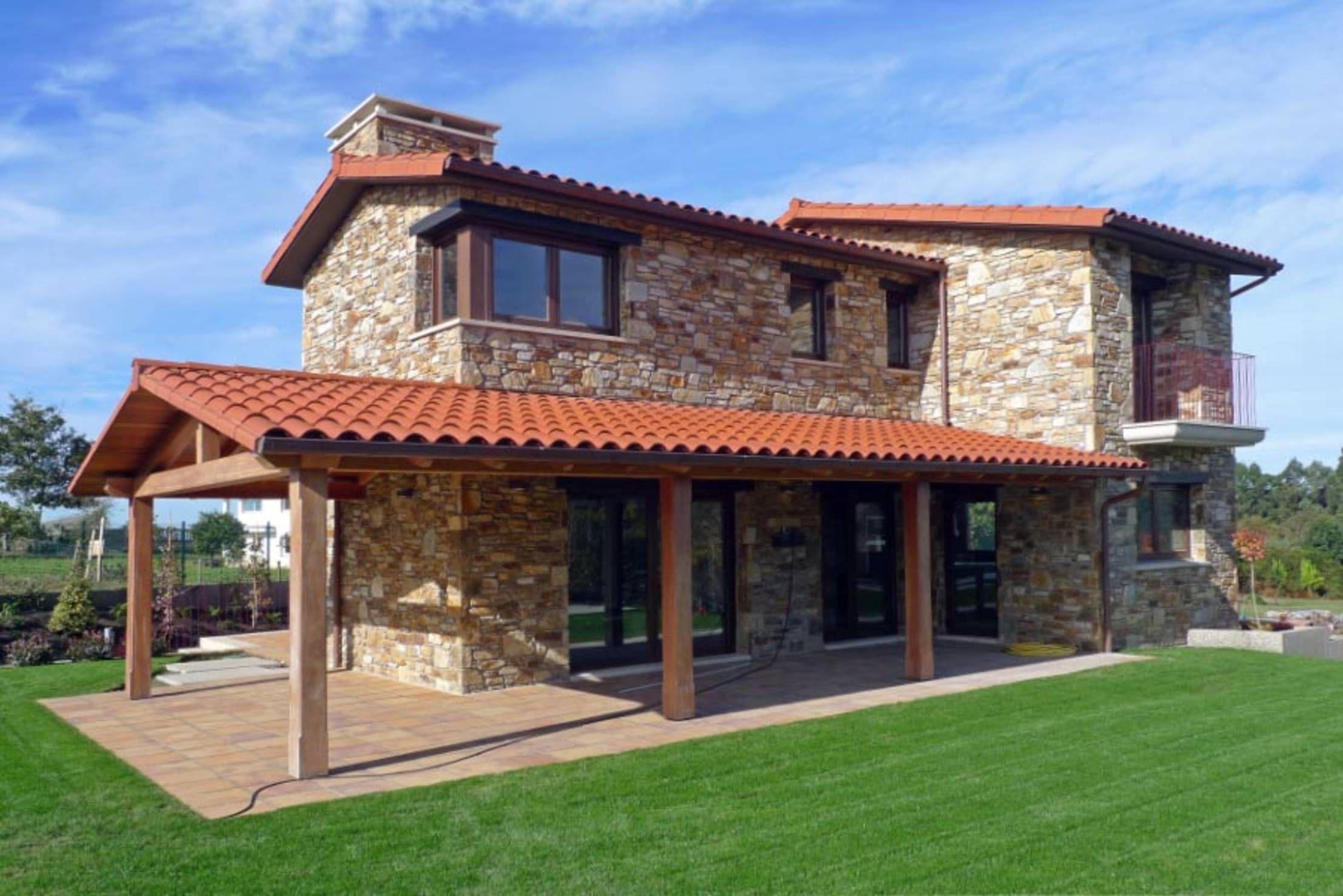 R stica y actual una maravillosa casa con piscina en galicia casas r sticas por fuera y - Casas de campo en galicia ...