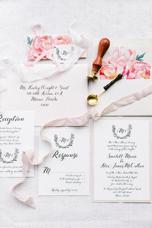 Styled Social Dallas Under The Texan Sun Ruffled Wedding Invitation Paper Low Cost Wedding Swap Party Invitation