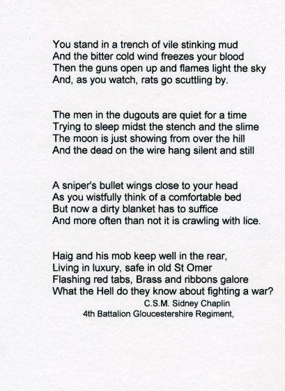 World War One Poem | Art | Pinterest | Poem
