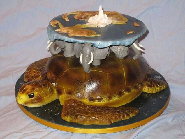 another discworld cake!