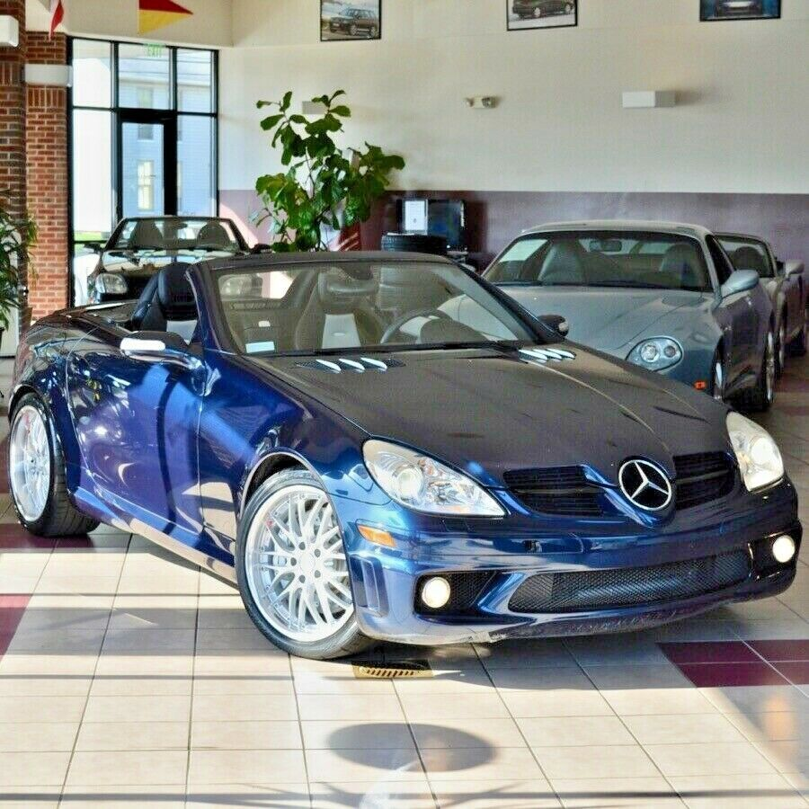 Ebay Advertisement 2008 Mercedes Benz Slk Class Slk55 Amg 2008