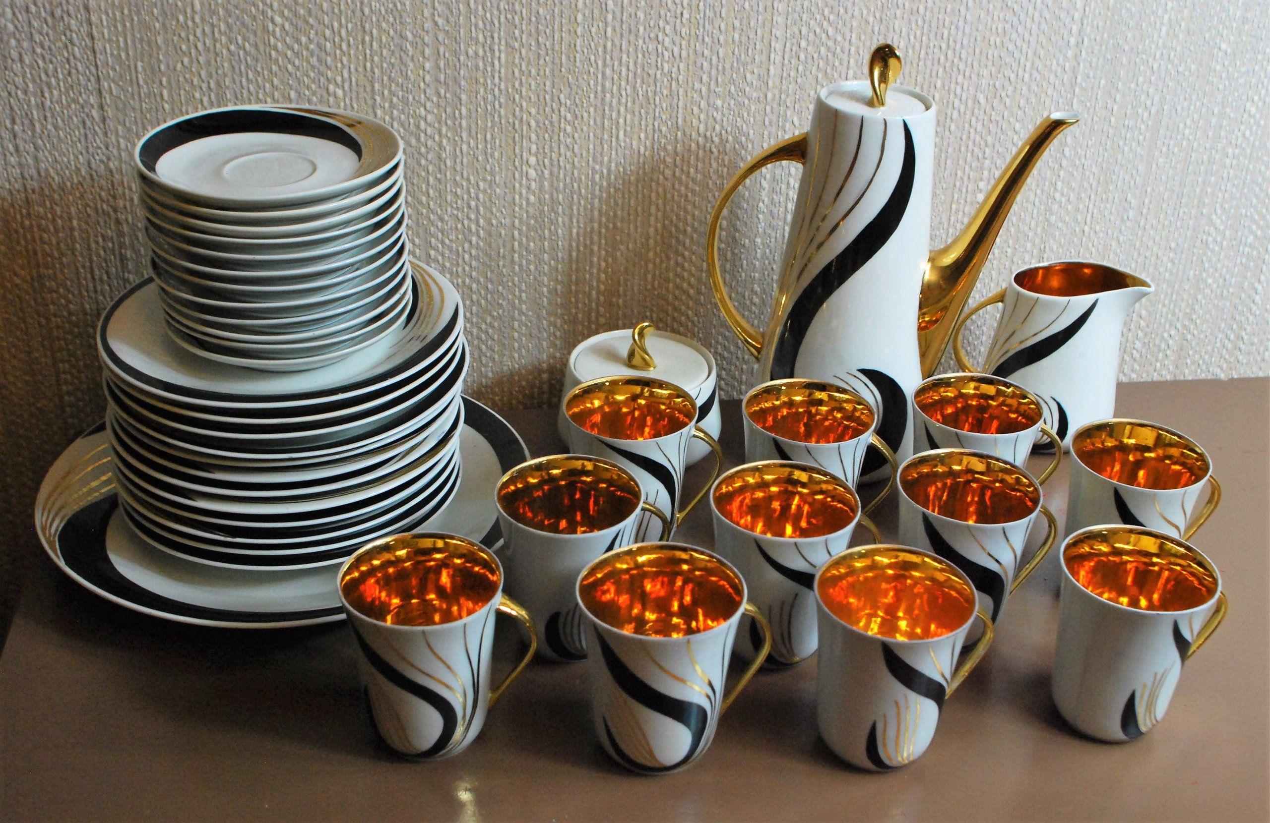 Cmielow Chodziez Prometeusz Hanna Modrzewska 7226000110 Oficjalne Archiwum Allegro Coffee Set Porcelain Figurines Tea Pots
