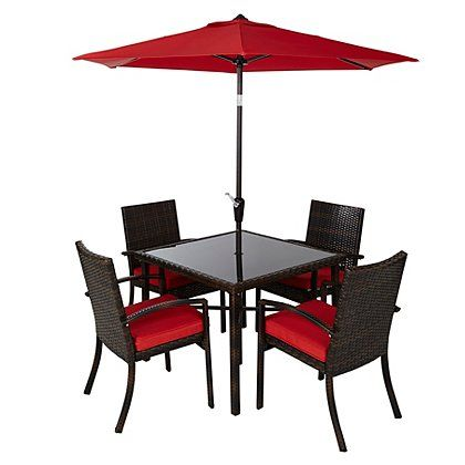 jakarta 6 piece patio dining set - Garden Furniture 6
