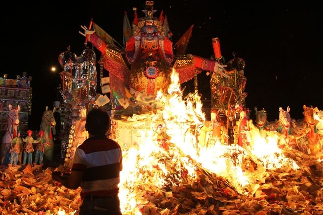 Hungry Ghost Festival in Malaysia - Ethnic Chinese in Kajang