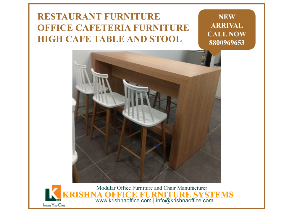 High Cafeteria Table And Stool Cafeteria Table Office Furniture Office Furniture Manufacturers