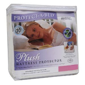 Plush King Mattress Protector by Protect-A-Bed. $87.98. 100-Percent waterproof barrier. Extra soft and very absorbent. Cool and comfortable to sleep on. Dust mite/allergy barrier. Breathable. The Plush Protect-A-Bed mattress protector features all of the allergy-free health benefits of our Premium mattress protector but is 100-Percent polyester with a soft, luxurious velour upper. The Plush mattress protector also features the innovative Miracle Membrane with the Tot...
