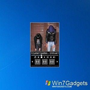 Beat Music Player - Windows 7 Desktop Gadget   Music & TV