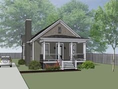 House Plan UD1213A – Universal design Series