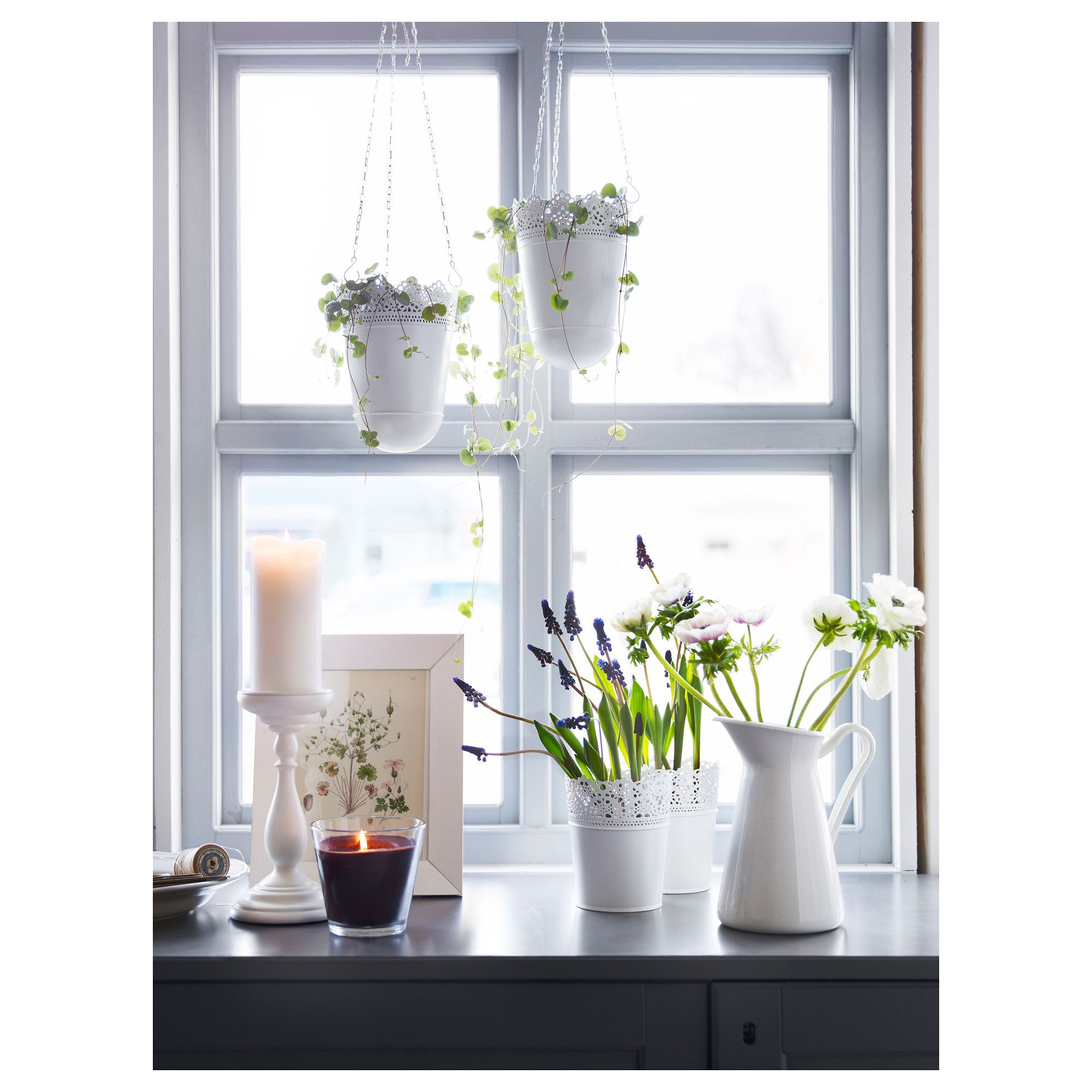 Ikea Indoor Garden: SKURAR Plant Pot, Off-white Indoor/outdoor, Off-white