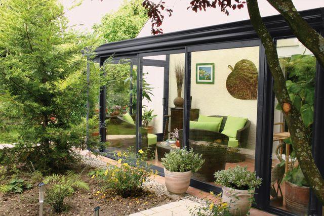 v randa jardin d 39 hiver 12 mod les tr s inspirants double vitrage gris vert et polycarbonate. Black Bedroom Furniture Sets. Home Design Ideas