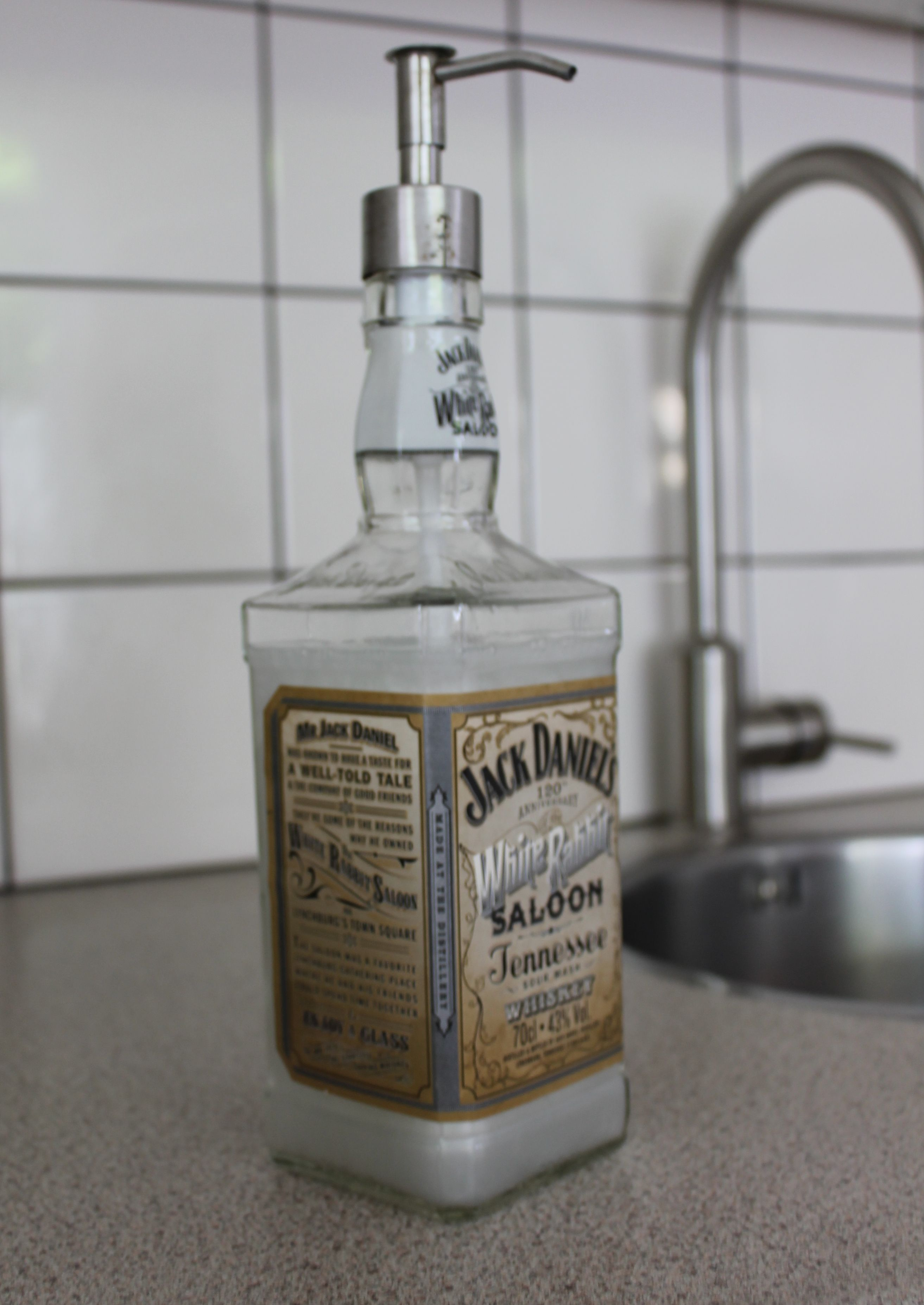 Jack Daniels zeeppomp