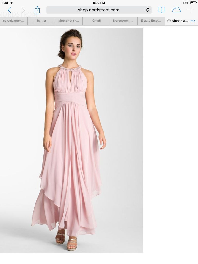 Beautiful flowing pink dress things to wear pinterest pink dresses