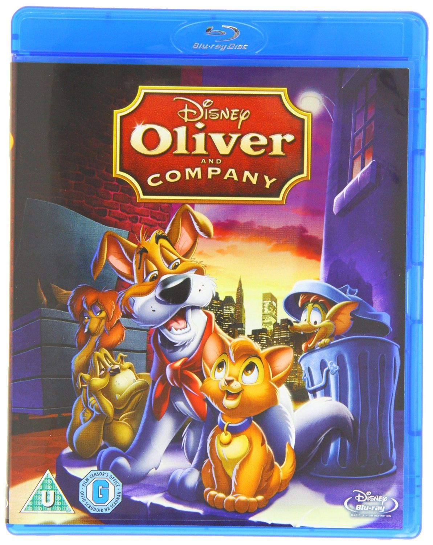 Oliver & Company [Blu-ray] [Region Free]: Amazon co uk