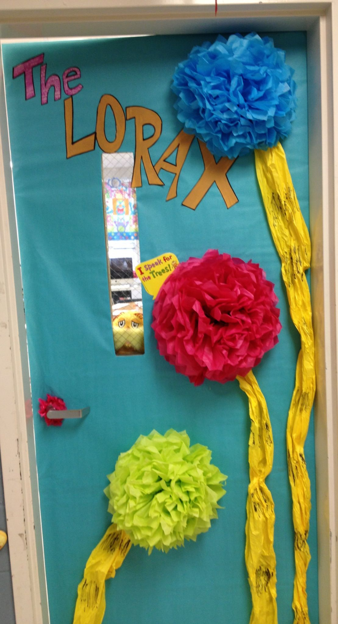 Lorax Classroom Decor ~ Lorax dr seuss classroom door school reading