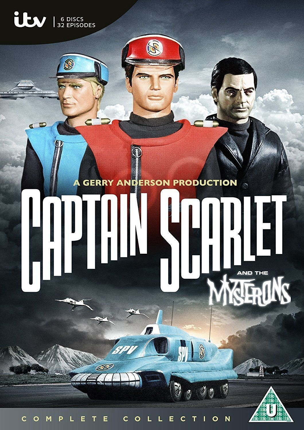 Captain Scarlet The Complete Collection Dvd From The Gerry Anderson Store Scarlet Gerry Anderson Captain