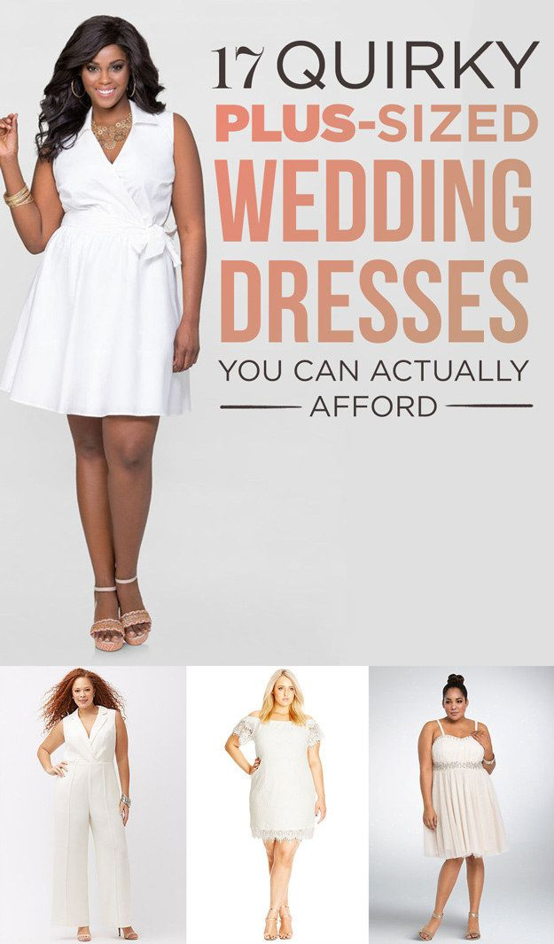 17 Alternative Plus Size Wedding Dresses You Can Actually Wear Again