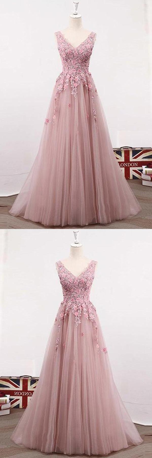 Cheap light blush prom dresses prom dresses lace pink prom dresses