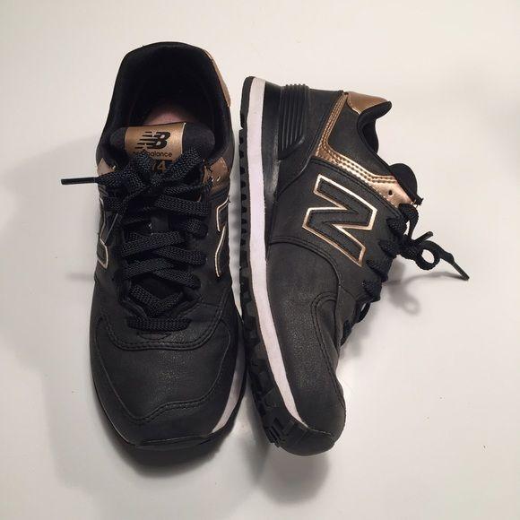 new balance wl574 noir et rose