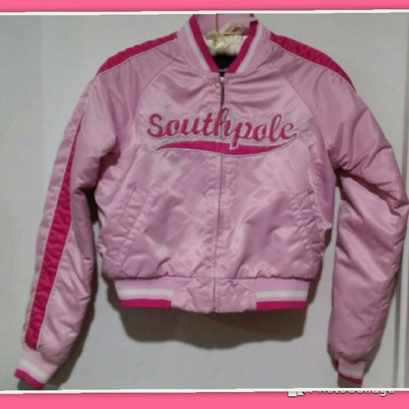 Pink SouthPole Coat Size Small Small stain on arm and back as shown in last photo. South Pole Jackets & Coats Puffers