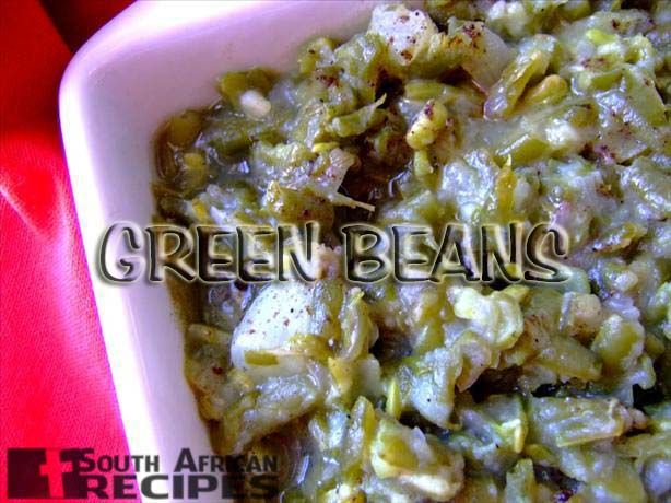 South African Recipes | STEWED GREEN BEANS (LIKE OUMA USE TO MAKE)