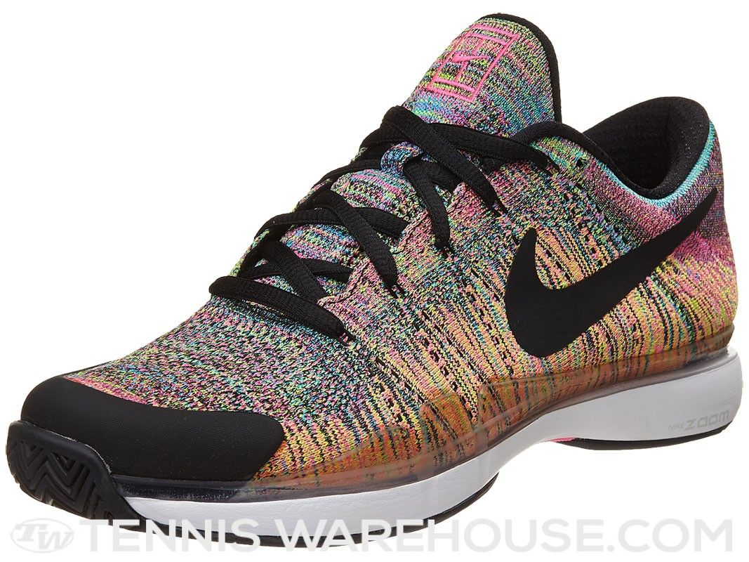Nike Zoom Vapor 9.5 Flyknit Pink/Black/Green Men's Shoe