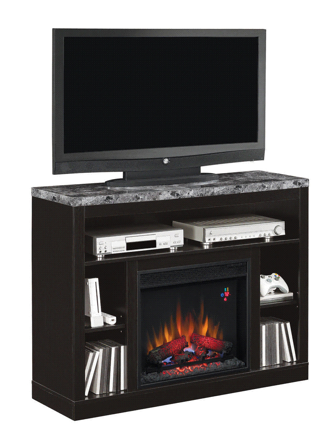Classicflame Adams Electric Fireplace Twin Star Home Gallery