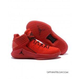 detailed look a07a0 34578 Latest 2018 Ah3348-601 Nike Air Jordan 32 High Rosso Corsa, Price: $92.66
