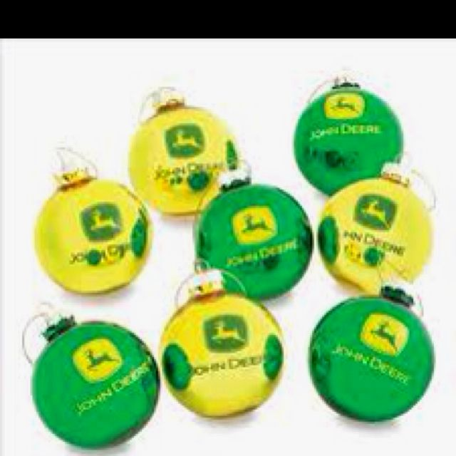 John Deere Christmas Ornaments | Christmas | Pinterest | Christmas ...