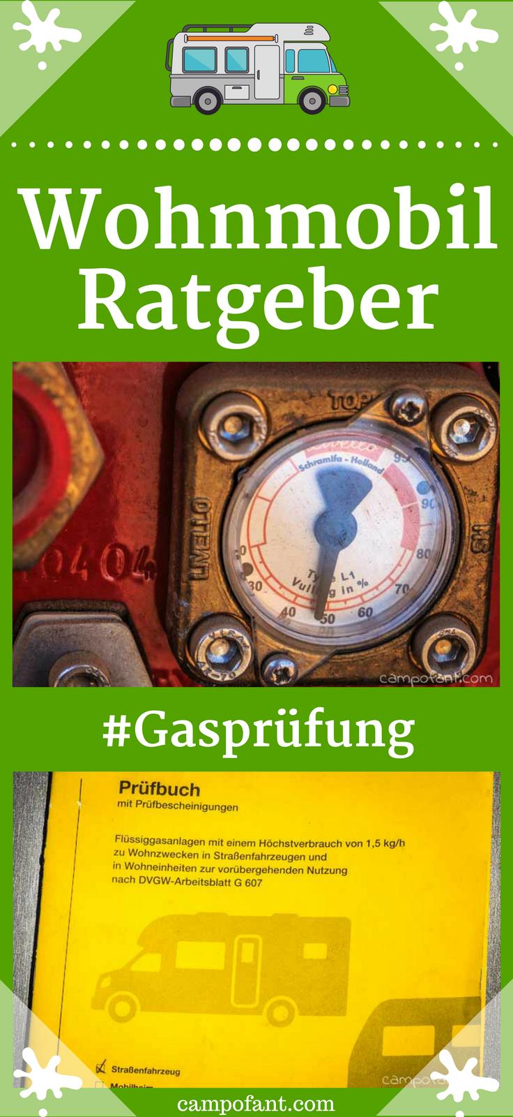 Update: Gasprüfung Wohnmobil und Wohnwagen, Pflicht? - Campofant