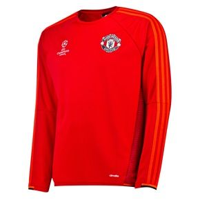 huge selection of 728b7 4dfe4 Manchester United UCL Training Top Red | Clothes | Training ...