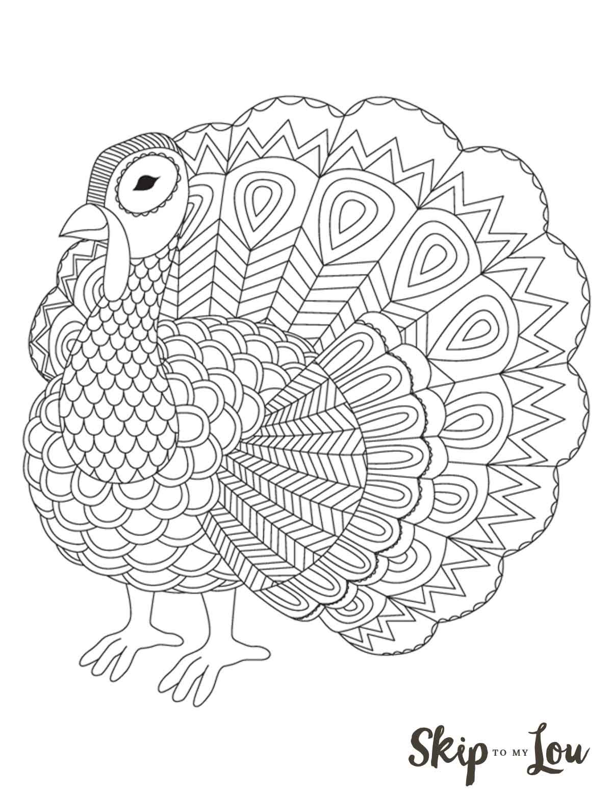 Get Kids Excited About Thanksgiving With These Free Turkey Coloring Pages From Young To