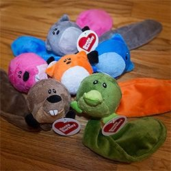 Target Boots Barkley Fox Beaver Platypus Dog Toys With Squeaky