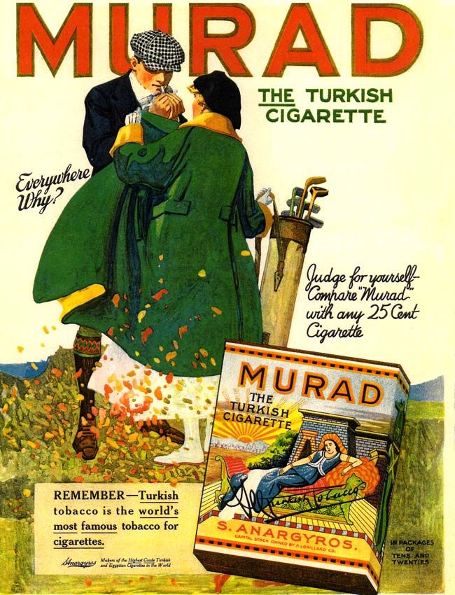 Murad Cigarettes -1917A | Eyecatching Vintage Adverts