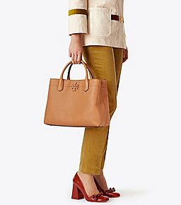 9c54154a423 Baguette Tory Burch Mcgraw Triple-compartment Satchel. Find this Pin and  more on Handbags. ...
