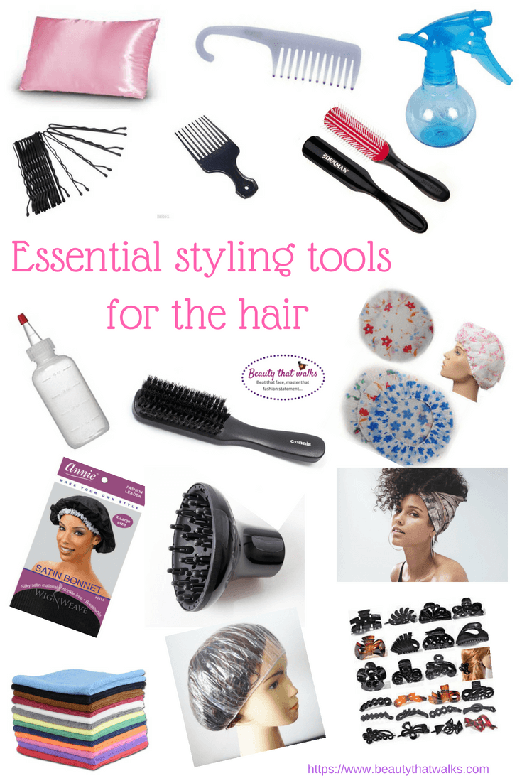 Essential Styling Tools For Hair Beauty That Walks Hair Essentials Curly Hair Styles Curly Hair Styles Naturally