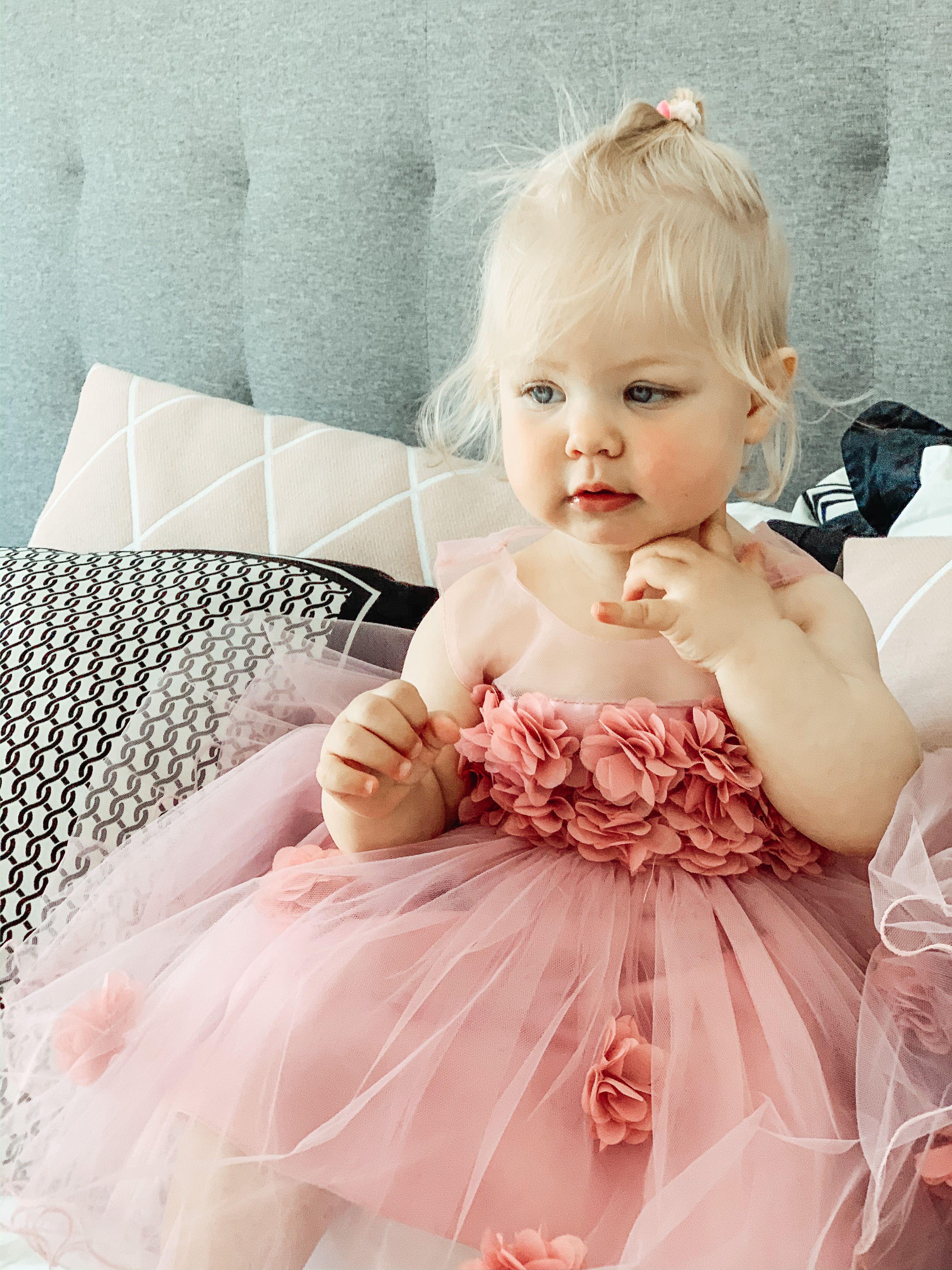Cutest baby girl ever princess dress  Birthday girl dress, 6st