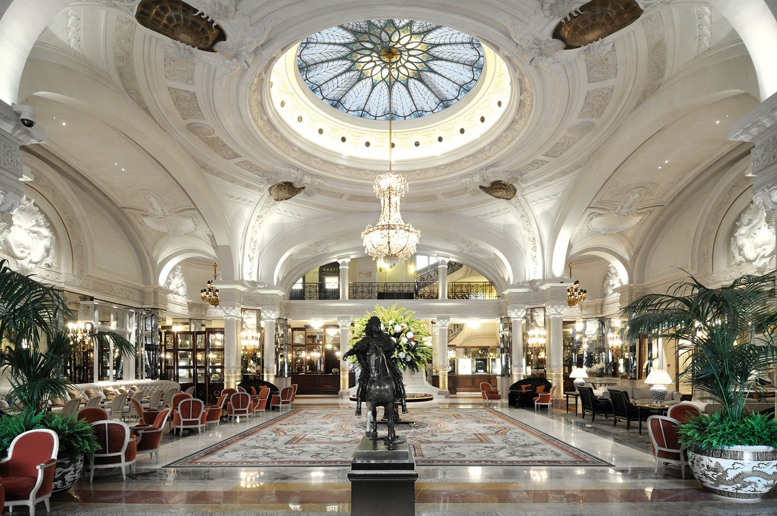 World Best Hotels Monte Carlo Monaco Hotel De Paris Lobby And The Equestrian