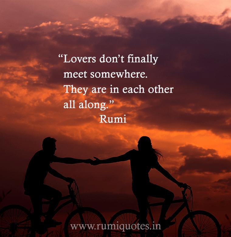 Rumi Quote Alluring Loversrumiquote1 760×777 Pixels  Rumi  Pinterest  Rumi